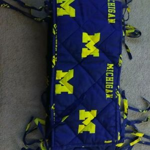 Other - University of Michigan Crib Bumper! *!